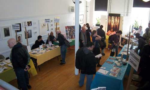 A look at a small portion of the exhibit space.