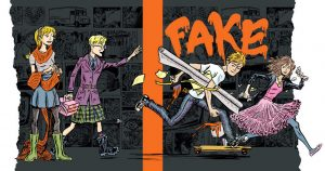 'Original Fake' by Kirstin Cronn-Mills and Illustrated by E. Eero Johnson image