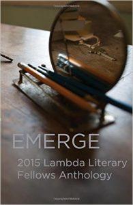 Emerge, an Anthology of Writing by Lambda Fellows image