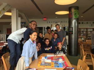 Librarian Paige Caliguiri on the LGBTQ Writer in Schools Program image