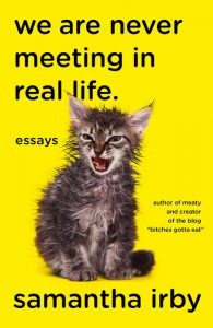 'We Are Never Meeting in Real Life' by Samantha Irby image