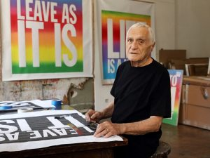 Genre Defying Poet, Performer, and Artist John Giorno, 82, has Died image