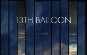 13th Balloon by Mark Bibbins image