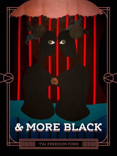& more black cover