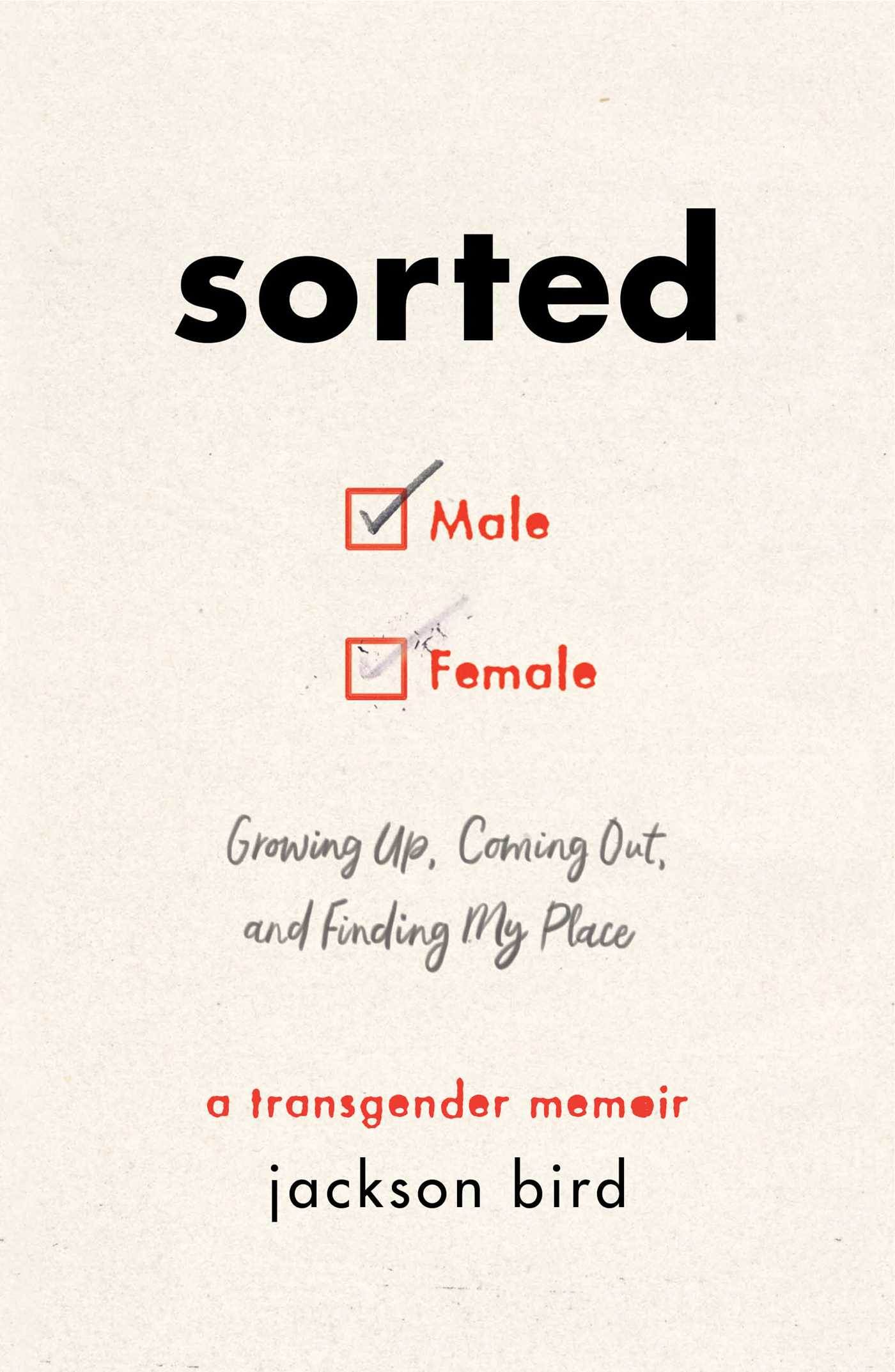 Sorted: Growing Up, Coming Out, and Finding My Place: A Transgender Memoir