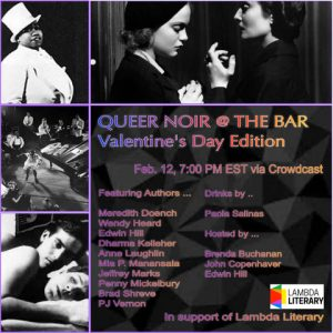 Queer Noir @ The Bar:  A Reading and Conversation with LGBTQ Crime Writers image
