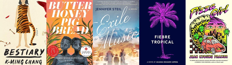 2021 Lambda Literary Awards Lesbian Fiction finalists