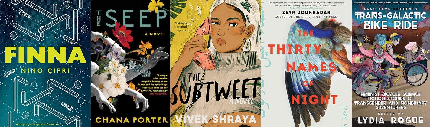 2021 Lambda Literary Awards Transgender Fiction finalists