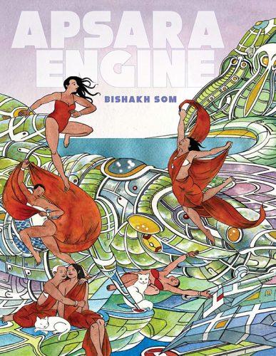 "cover for Bishak Som's ""Apsara Engine"""