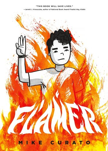 """cover for Mike Curato's """"Flamer"""""""