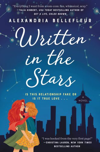"""Cover of """"Written in the Stars"""" by Alexandria Bellefleur"""