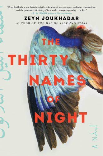 "cover of Zeyn Joukhadar's ""The Thirty Names of Night"""