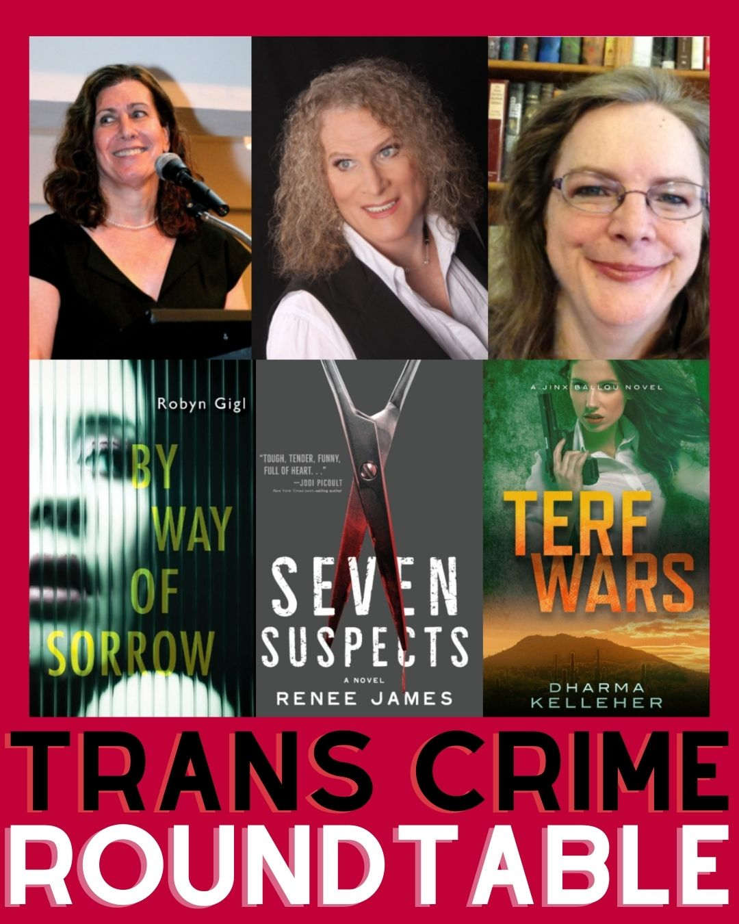 Three Trans Crime Writers Talk Thrills and Challenges of Writing in the Genre image