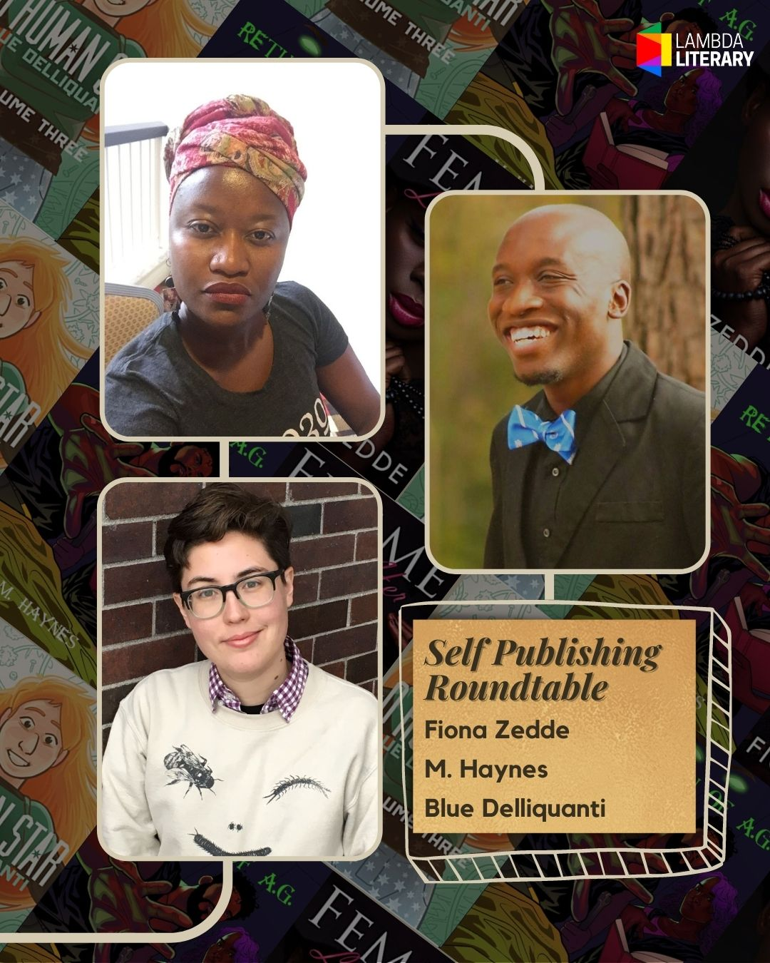 Writers' Roundtable: Self-Published Authors Make Their Own Success image